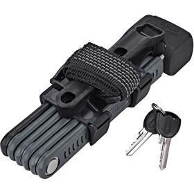 ABUS 6055/85 SH Bordo Lite Folding Lock, black